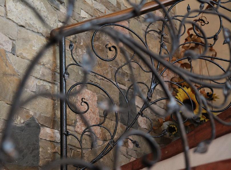 Accessori Per Il Bagno In Ferro Battuto : Ferroartistica arredo per interni in ferro battuto